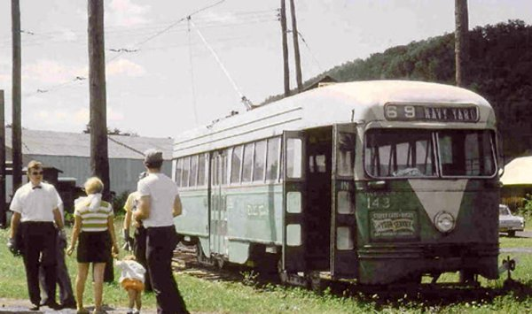 Capital Transit 1430 in its original green & white livery