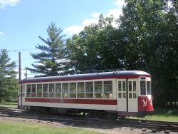 TARS 678, restored, on the tracks